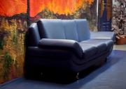 Продам кожаный диван дёшево!
