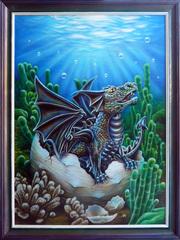 Картина Черный дракон