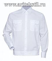 Сорочки для кадета, рубашка для кадета с длинными короткими рукавами