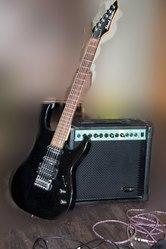 Гитара + Комбик 20 W