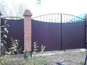 Заборы / Ограждения,  Автоматические ворота / двери,  Кованые изделия.