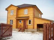 Строительство домов,  бань,  дач из бруса