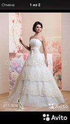 Продам свадебное платье  Иркутск
