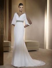 Испанское свадебное платье фирмы Pronovias