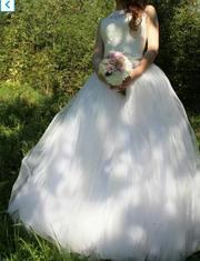 Продам свадебное платье,  размер 44-46