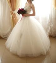 Пышное свадебное платье в Иркутске