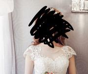 Продам пышное свадебное платье за 23000
