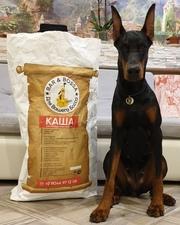 Доброкачественный корм для собак