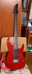 Продам гитару Crafter Crown Fm,  Комбоусилитель Hiwatt Maxwatt G20/8R